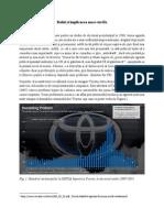 Proiect Gestionarea Crizei Imaginii Organizatiilor- Criza Toyota