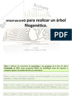 Como realizar un árbol filogenético.pdf