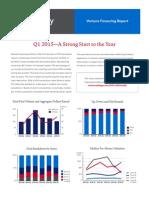 Cooley Venture Financing Report Q1 2015