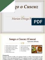 Sango, comida tradicional colombiana