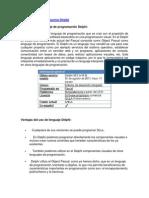 Lenguaje de Programacion Delphi