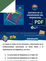 Historia de La Universidad de Magdalena