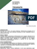 01-Temario PETROGRAFÍA Estructura de La Tierraexamen
