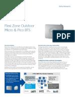 Nokia Flexi Zone Outdoor Micro-pico Bts Datasheet