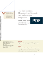 The Indo-European Homeland from Linguistic and Archaeological Perspectives