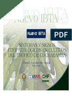Sintomas y Signos Fitopatologicos en Cultivos Del Tropico