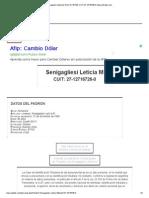 Senigagliesi Leticia M, DNI 12.716.726, CUIT 27-12716726-0, BuscarDatos