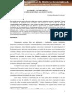Cavalcante - As Três Dimensões Das Instituições