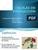 Células de Producción