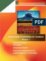ANTOLOGÍA Educacion Ambiental Tamaulipas