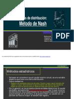 Método de Nash Hidrologia