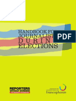 Handbook for Journalists During Elections