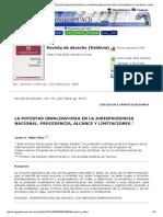 Revista de Derecho (Valdivia) - La Potestad Invalidatoria en La Jurisprudencia Nacional_ Procedencia, Alcance y Limitaciones