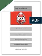 XIII Boletín Informativo Semanal UCR 2015 Misiones Versión online