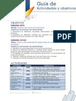 Guia de Actividades y Objetivos Unidad 4