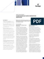 NetApp Homogeneous Data Migration Datasheet