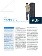 NetApp Virtual Tape Library Datasheet (Nov 2008)
