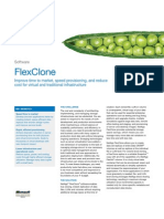 NetApp FlexClone DataSheet