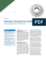 NetApp SnapDrive Datasheet