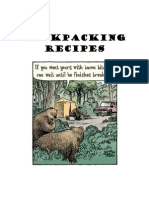 Great Backpacking Recipes