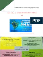 Avaliação Da Política Nacional de Assistência Farmacêutica