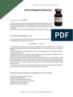 Terapia de Peróxido de Hidrógeno Endovenoso