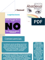 El Abuso Sexual ..Legislacion