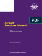 ICAO 9137 Airport Services Manual Part 2 Pavement Surface Conditions 4th Ed