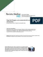 Papel Del Doppler en La Restriccion Del Crecimiento Intrauterino Rev Med Md 2013 44