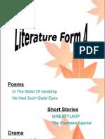 Literature Form4