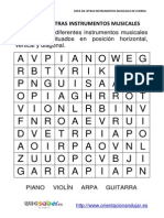 Sopa Letras Instrumentos C