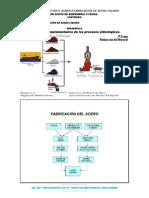 Físico Química Fabricación de Acero Líquido