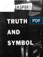 Truth and Symbol - Karl Jaspers (Twayne, 1959)