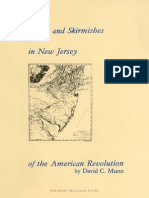 Battles and Skirmishes of the American Revolution in NJ
