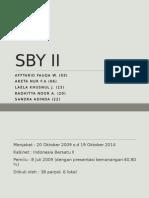 SBY II