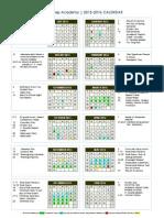 aesa prep academy calendar 2015 2016