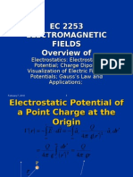 Electrostatic Potential; Charge Dipole;