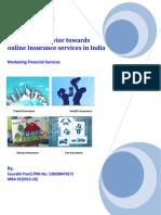 Consumer Behavior Towards Online Insurance
