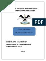 El Misterio Del Capital- Hernando de Soto Ensayo