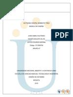 Diseño de sistemas Unad fase 3