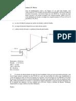 Lista de Exercícios Hidráulica - 1a Prova