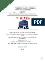 Informe Practica Intermedias - Marco