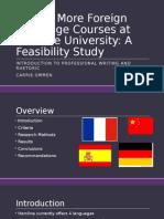 feasibility presentation