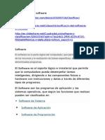 Clasificacion y Tipos de Software