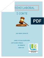 Derecho Laboral I,II,III Corte Potafolio