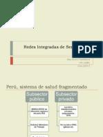 Redes de Servicios de Salud 2015
