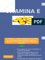 Vitamina e Exposición