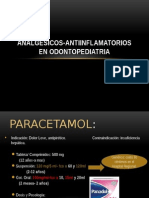 analgesicos odontopediatria