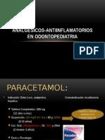 analgesicos odontopediatria
