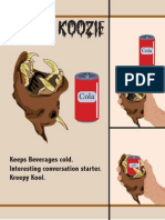 Megan Creature Koozie